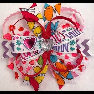 Other - Colorful Valentine's Day Bow